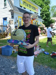 Jorge Fornia of Egg Harbor City is pictured with the