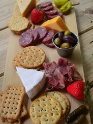 Thor Bersteds made the charcuterie platters. This platter