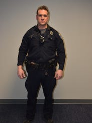 Officer Joseph Ferrigno photographed the night of the