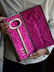 The key to Shanghai was a token of appreciation given