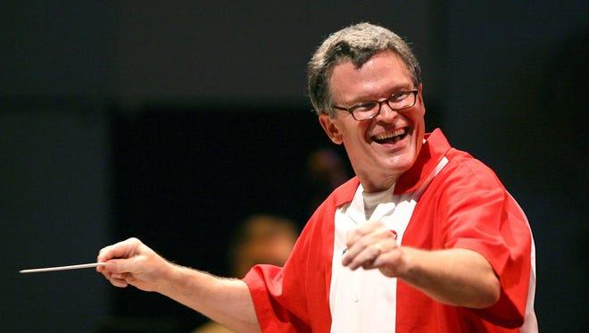 Cincinnati Pops conductor John Morris Russell.