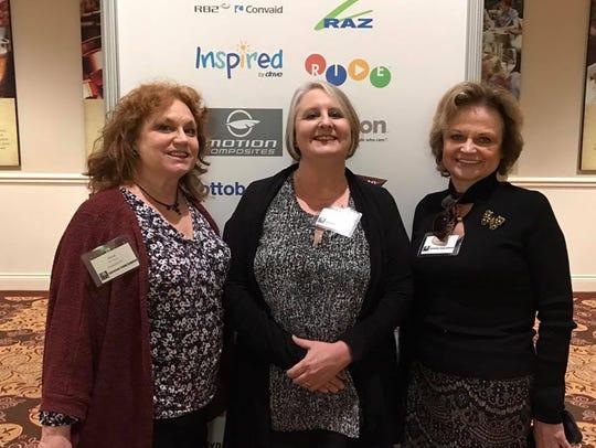 Joyce Rucker, Lisa Coleraine and Phyllis Shelton, the