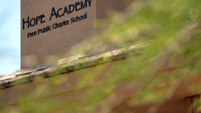 Hope Academy charter school in Palm Desert on Thursday, May 26, 2016.