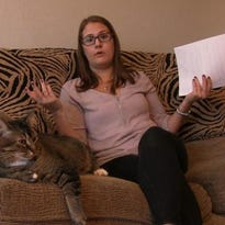 Reporter's not giving up her cats to pay debt