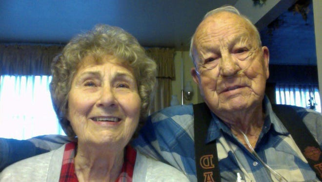Carr and Willie Stolworthy will celebrate 70 years of marriage on March 15.