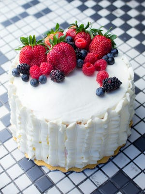I'm not sure what else will be on my Easter menu, but i'm going to try my oven at making this Berry Chantilly cake from Bywater Bakery in New Orleans.