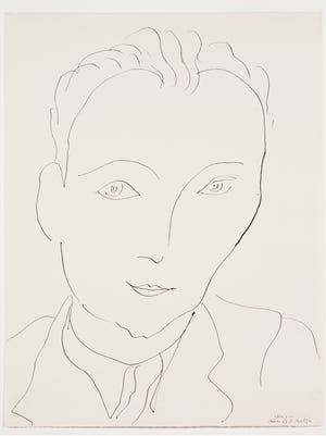Henri Matisse Aragon, 1943