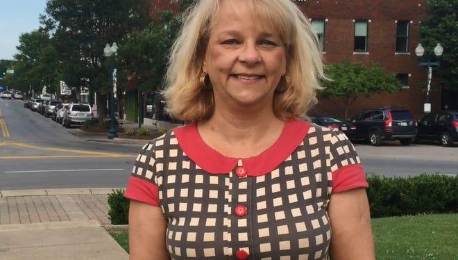 Kristy Williams is Franklin's Main Street director.