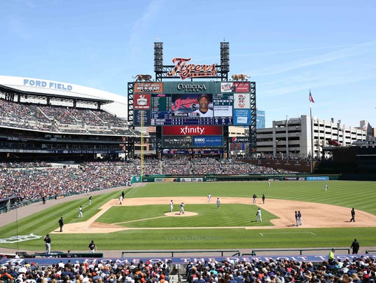 Detroit Tigers hot at Comerica Park, but attendance has dipped