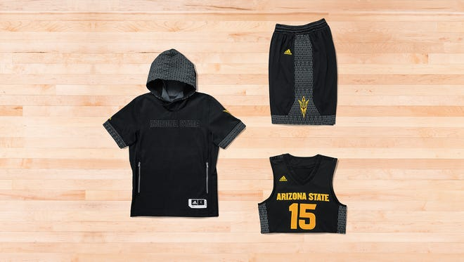 """ASU's """"Iced Out"""" uniforms."""