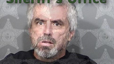 Tommy Bailey, 52, of LaGrange, Georgia, was arrested after police say he punched his ex-girlfriend's dog in the face during a violence domestic dispute earlier this month.