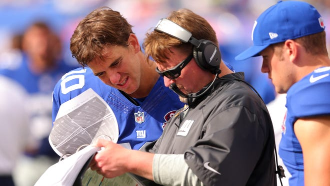 Giants QB Eli Manning and Ben McAdoo have worked together since 2014.