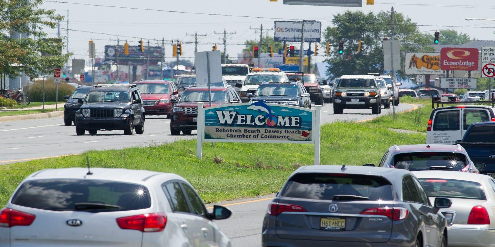Ways Around Frustrating Delaware Beach Traffic