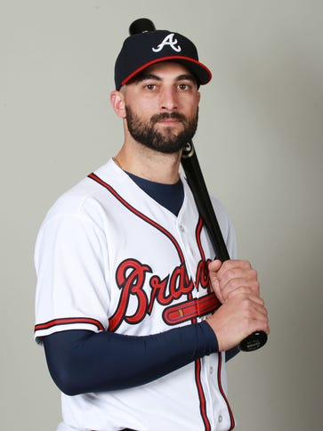 Nick Markakis signed with the Braves in the offseason.