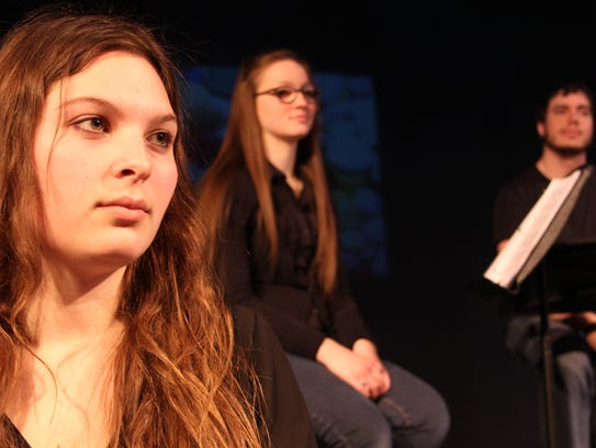UW Fond du Lac Students, from left, are Cassandra Rusch,