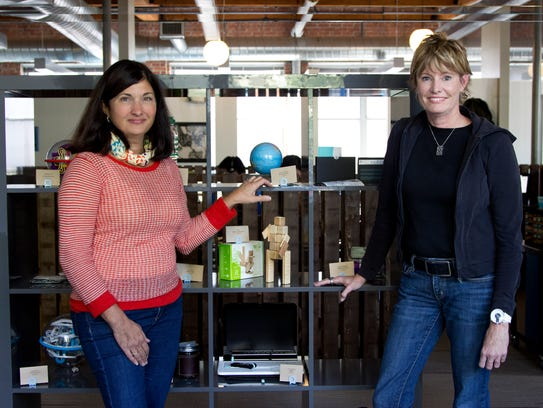 Joanne Domeniconi and Jules Pieri, co-founders of The