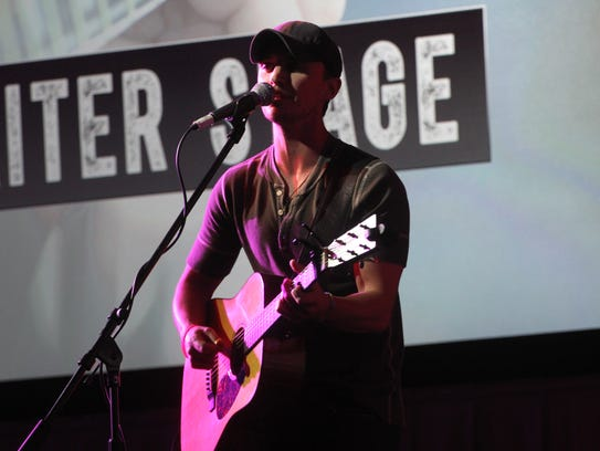 Greg Bates, of Nashville, TN performs during the first
