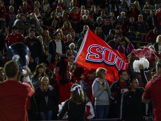 SUU vs Weber State, Friday, Oct. 2, 2015.