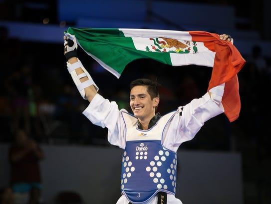 Saúl Gutiérrez, representante de tae kwon do.