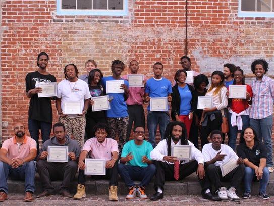 Youth Empowerment Project Trafigura Work & Learn graduates