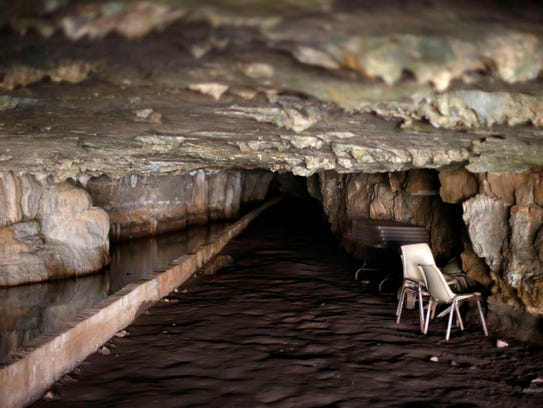 Answer Man:  Does this cave in Doling Park somehow