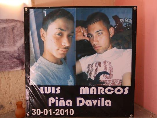 On Jan. 30, 2010, 16-year-old José Luis Piña Dávila