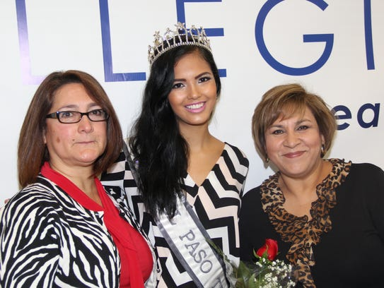 Gina Rogers, left to right, Miss El Paso USA Stephanie