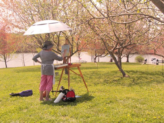 Julie Farrell, of Staunton, will be one of the artists