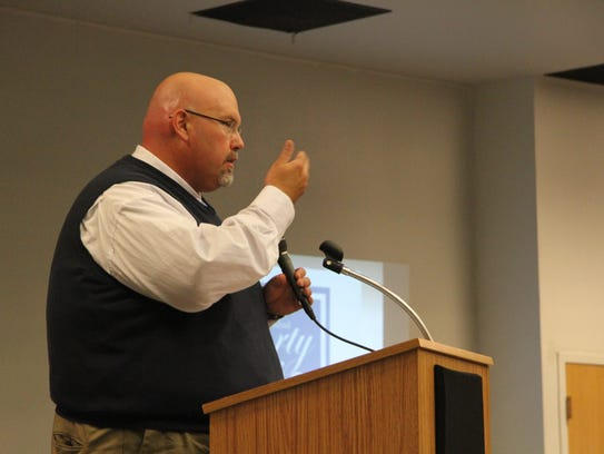 Jeff Campbell, with the Carlsbad Department of Development,