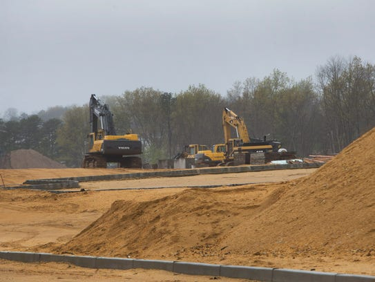 Gabrielle Run Construction in the North Dover section