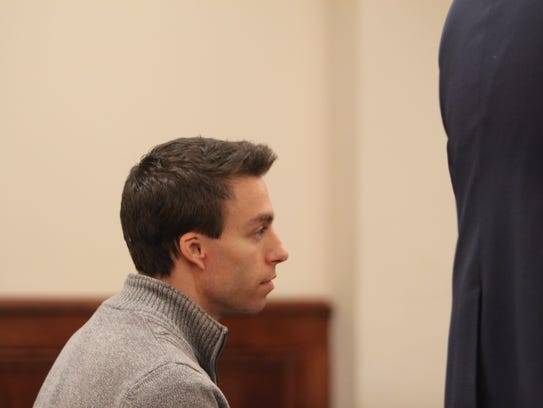 Anthony Murphy at a preliminary hearing Friday. His
