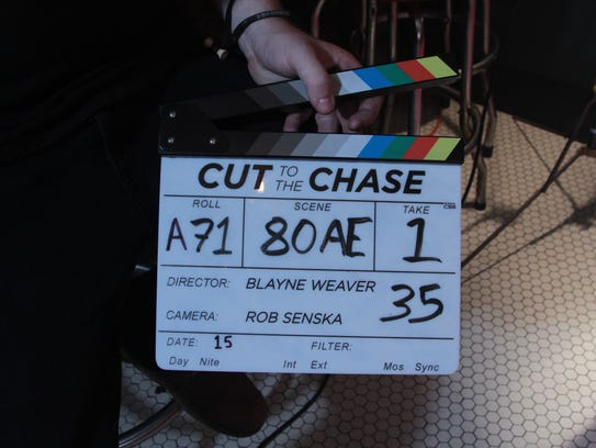 "Blayne Weaver directed and starred in ""Cut the the"