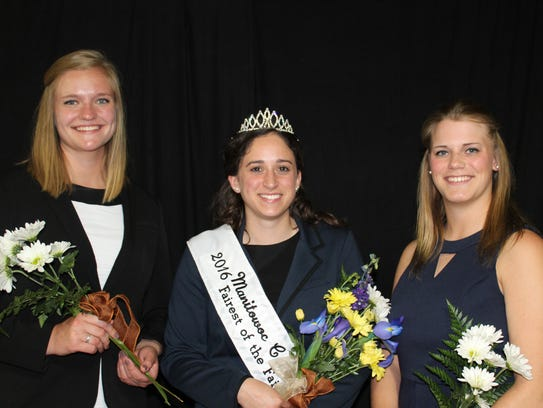 The winner and runners up for the 2016 Manitowoc County