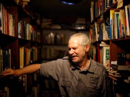 Jayson Hayes, owner of the International Book Mine,