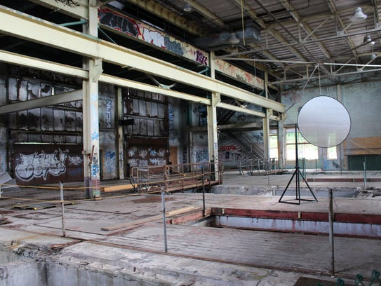 The second floor of the Burlington's Moran Plant, which