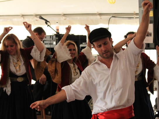 Dance with the Greeks, sample Greek food and more at