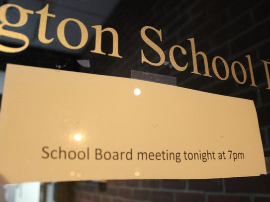 A statement released by the board says residents will