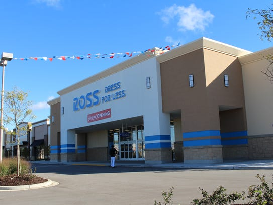 A new Ross Dress for Less store opened recently at