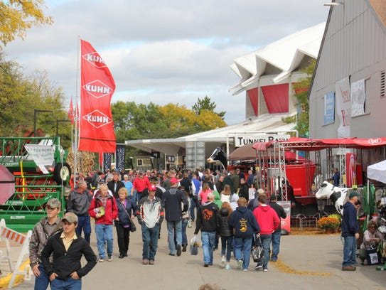 Next year's  World Dairy Expo will be held Oct. 3-7,