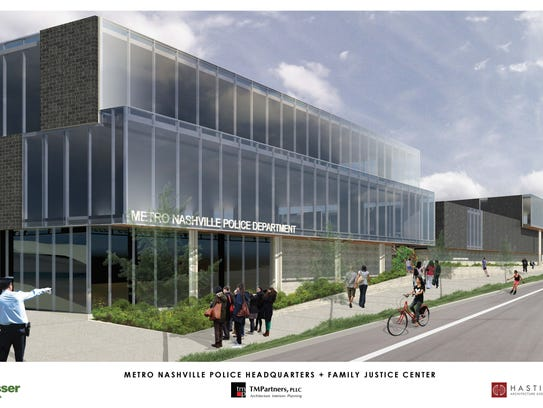A rendering shows Metro Nashville Police Department's