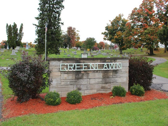 Plymouth's Greenlawn Cemetery is the village's active