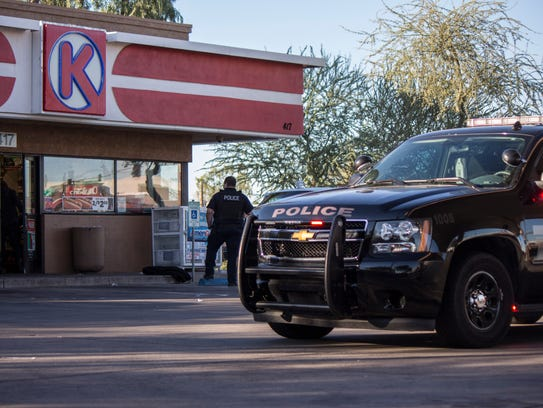 Police investigating Mesa Circle K