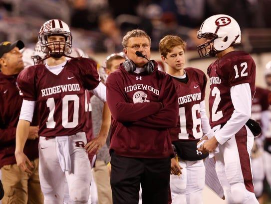 The Ridgewood football team, led by head coach Chuck