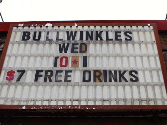 Bullwinkle's offers several AYCD specials and caters