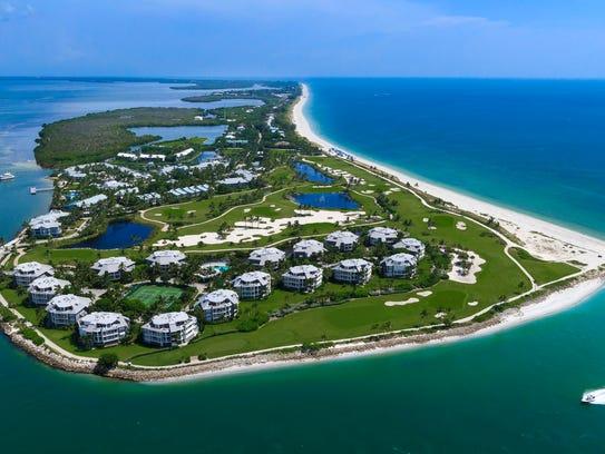 The 330-acre, 465-unit South Seas Island Resort on