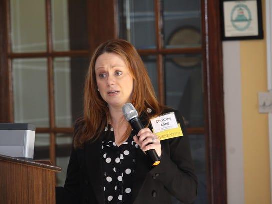 Christine Shaw Long, director of the North Carolina