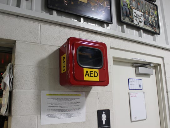 An Automatic External Defibrillator is a portable electronic