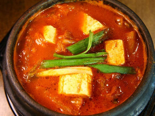 Kimchi Stew at Sizzle Korean BBQ on March 20, 2017
