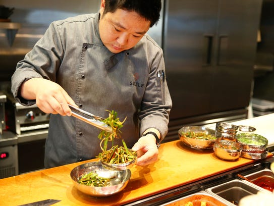 Executive chef Hyunwook Lee.