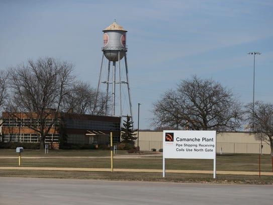 TMK IPSCO, a Camanche factory just outside of Clinton